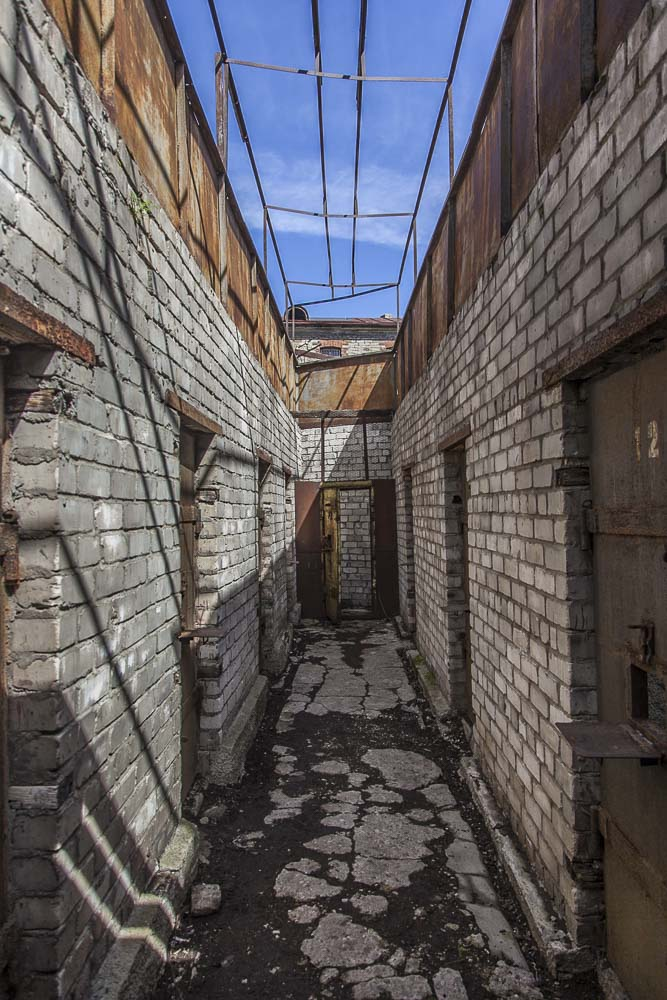 Patarei-vankilan ulkoilualue