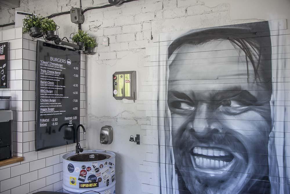 Jack Nicholsonin kuva tallinnassa