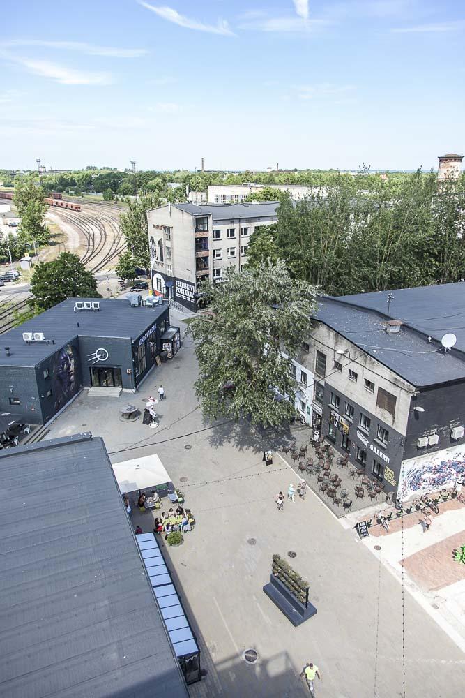 Näkymä Tallinnan Fotografiskan terassilta