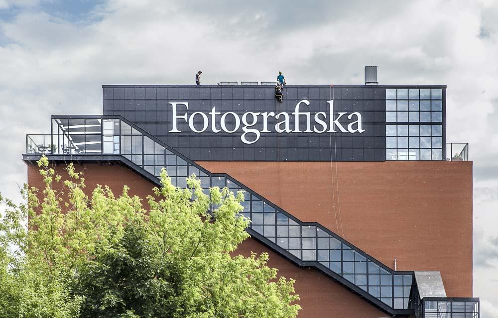 Fotografiska Tallinna telliskiven alueella