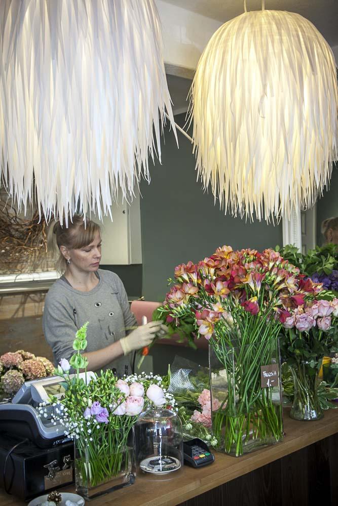 Kukkakaupan lamput