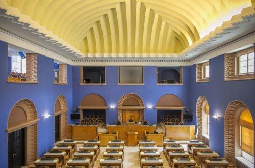 Viron parlamentin istuntosali