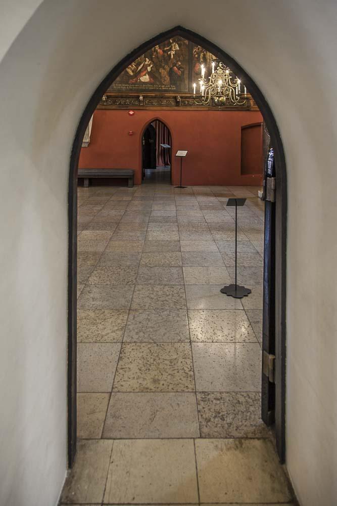Tallinnan raatihuone sisältä