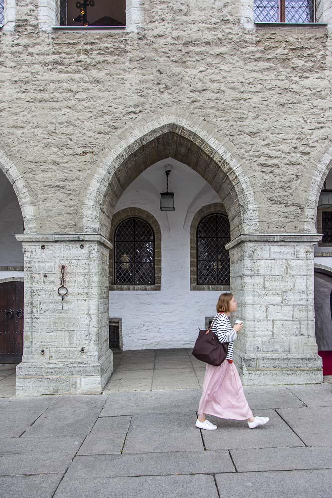 Tallinnan raatihuoneen holvikäytävä