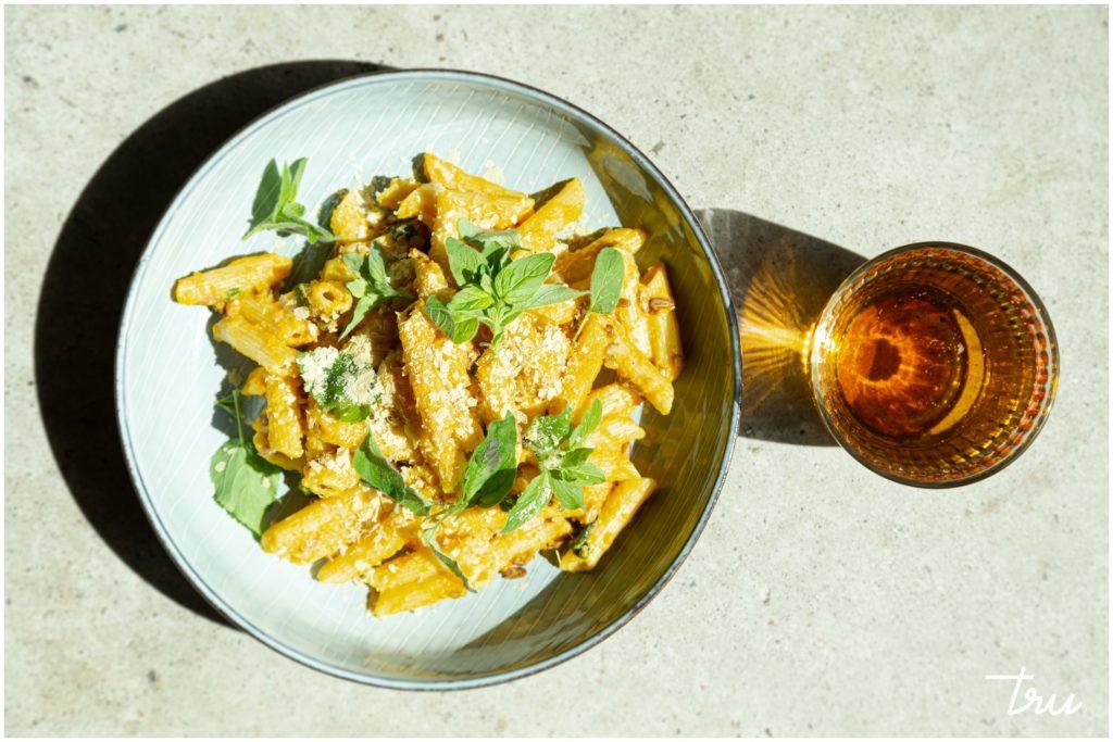 pasta-annos vegaaniravintola trussa