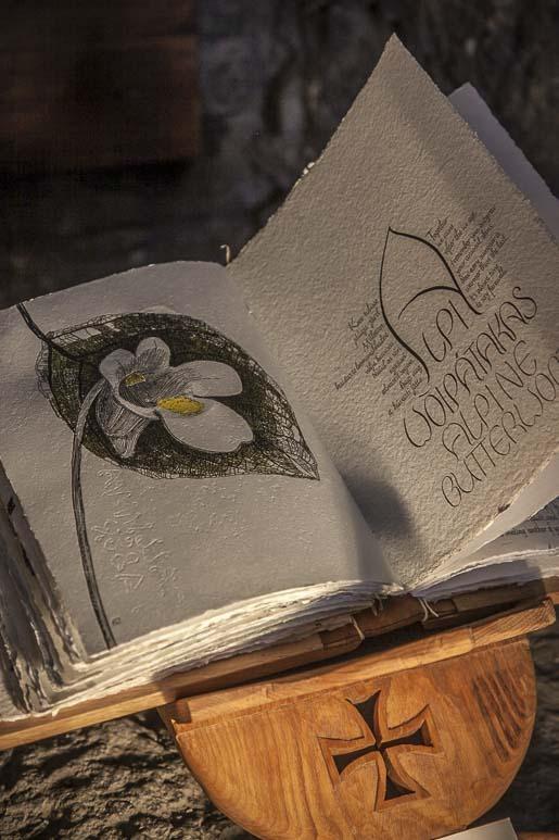 Kalligrafia-kirja Tallinnassa