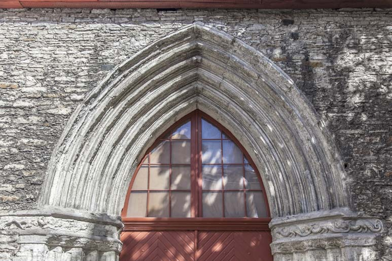 Pyhän Katariinan kirkko Tallinnassa