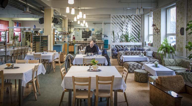 Söökla Tondin aseman vieressä Tallinnassa
