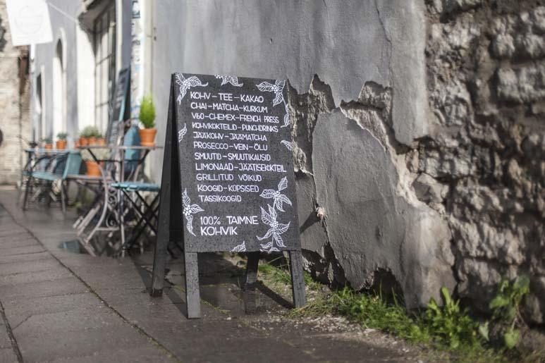 Lisanna kahvila tallinnan vanhassa kaupungissa