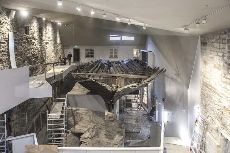 Koggi laivan hylky Viron merimuseo