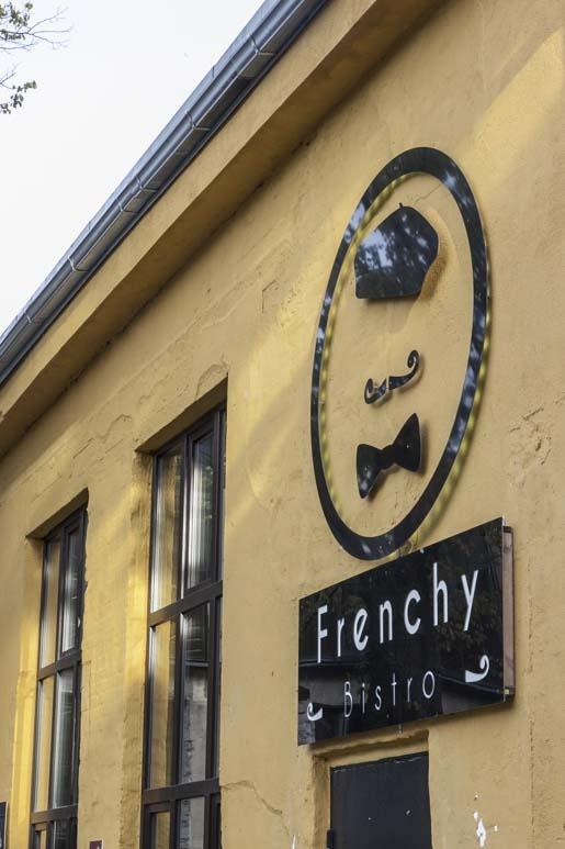 Frenchy bistro telliskivessä Tallinnassa