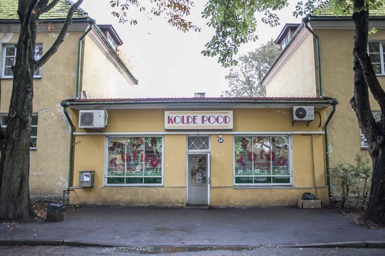 Kolde pood Tallinnassa