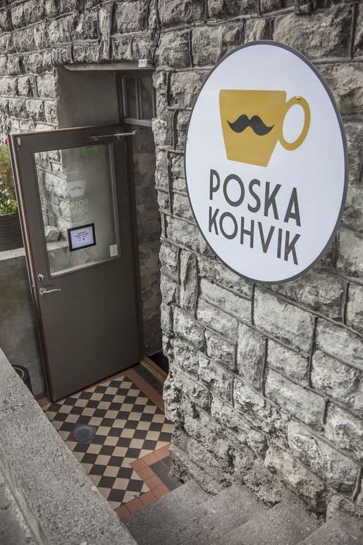 Poska kohvik lähellä tallinnan bussiasemaa