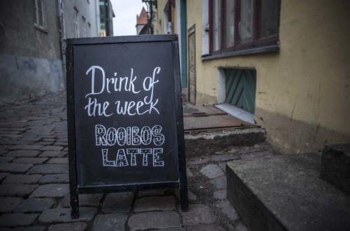 Cafe Raven Tallinnan vanhakaupunki