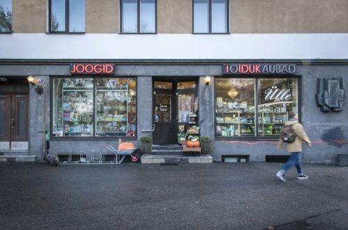 Kivijalkakauppa Ülle Tallinnassa