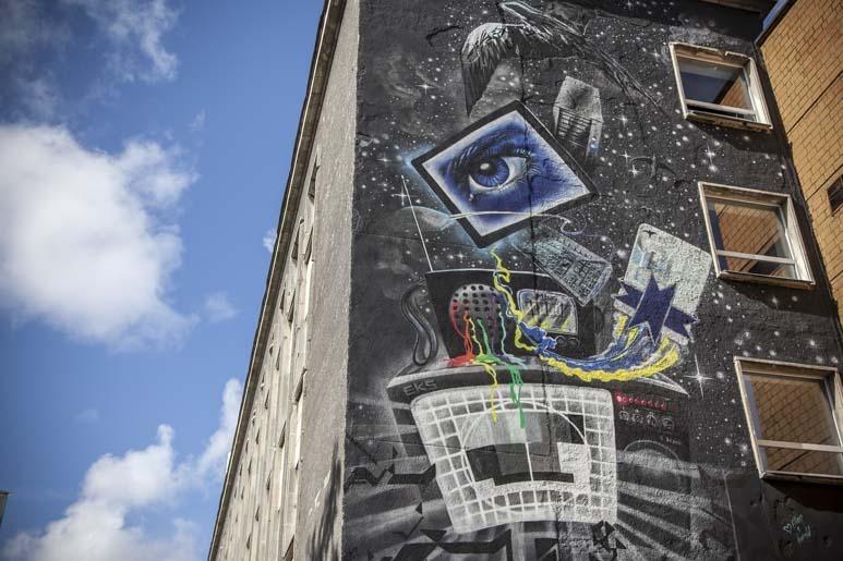 Telemaja Tallinna muraali