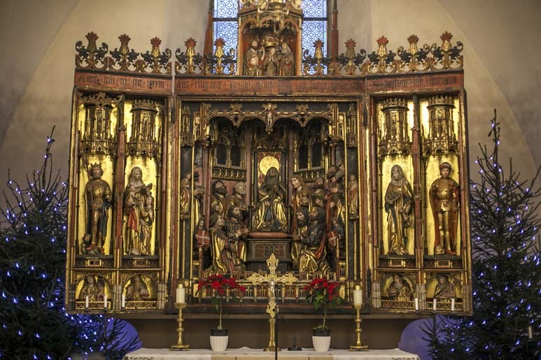 Pyhän Hengen kirkon alttari