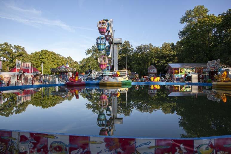 Luna Luna huvipuisto Tallinnassa