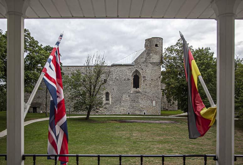 Padisen luostarin rauniot
