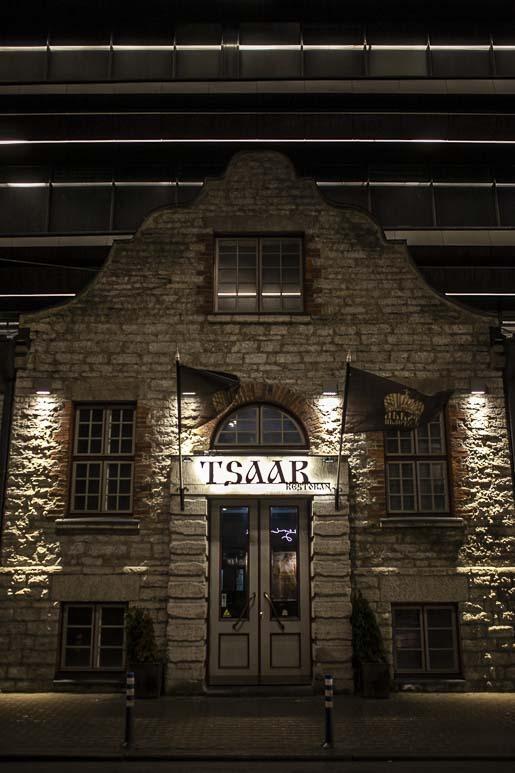 Ravintola Tsaar ja tallinnan parhaat blinit