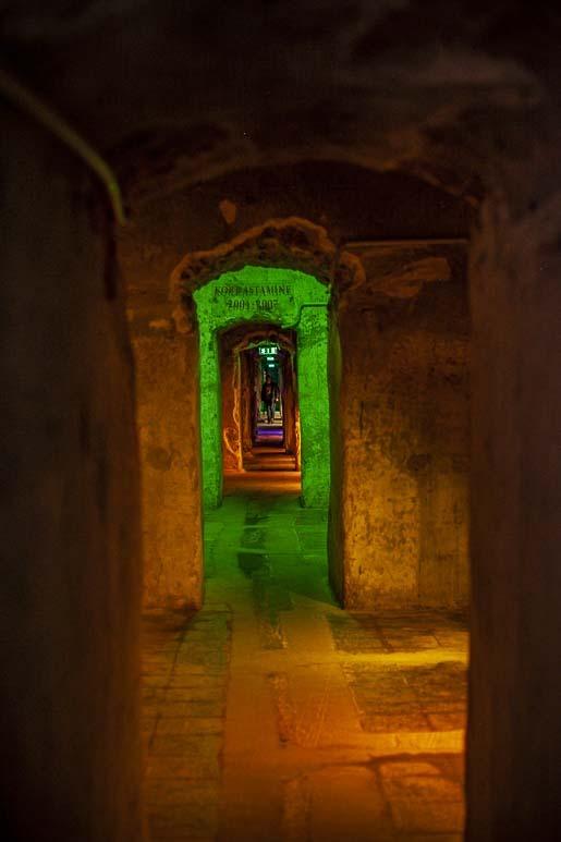 Bastionin tunnelit