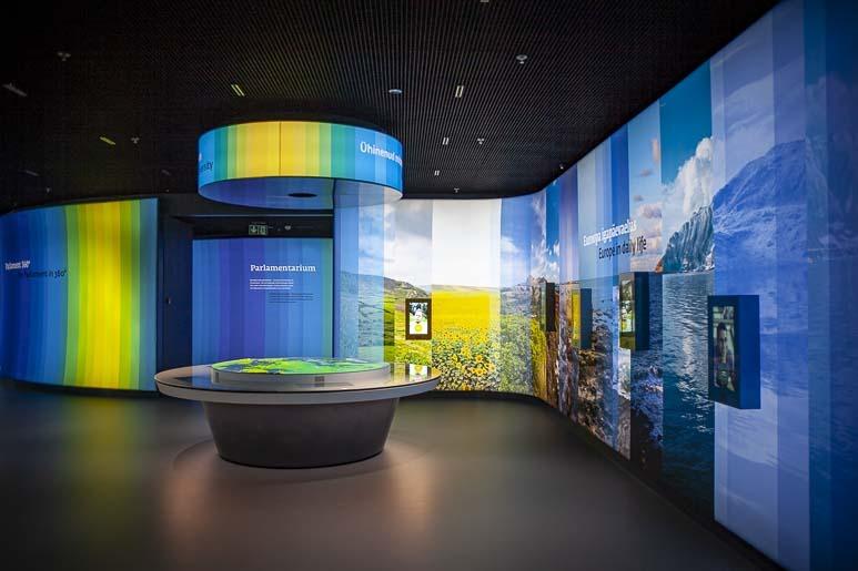 Eurooppa elämyskeskus on Tallinnan uusin nähtävyys