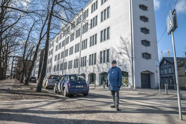 Tapion matkassa Eesti kunstiakateemia