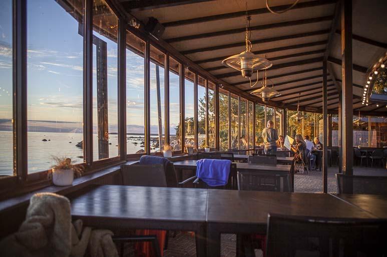 Ravintola Paatin katettu terassi