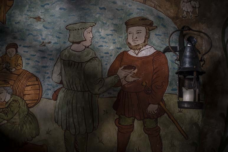 Olde Hansan seinämaalaus