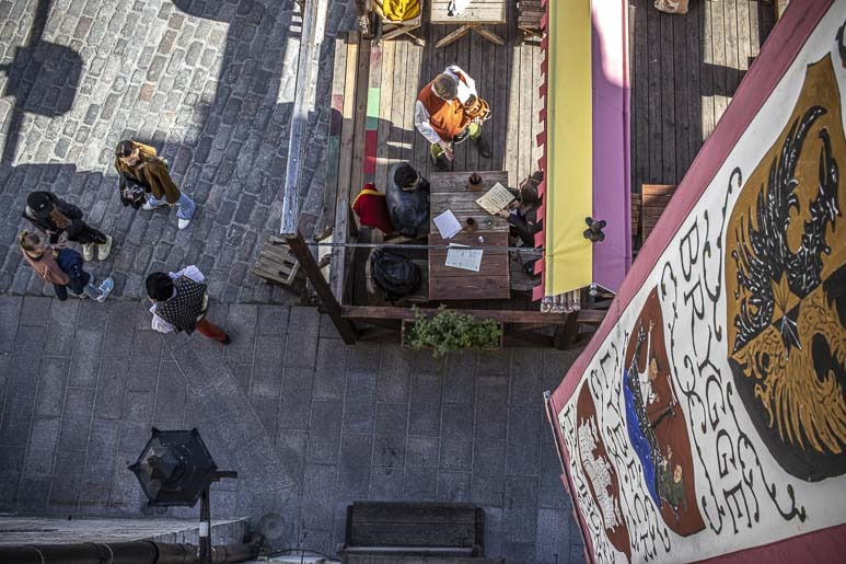 Olde Hansa ravintola Tallinnassa