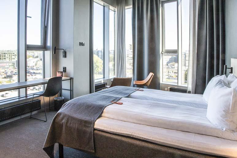 Citybox Tallinna hotellin huone